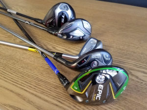 Hybrid, Iron or Fairway?